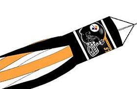 "Pittsburgh Steelers 57"" Windsock"