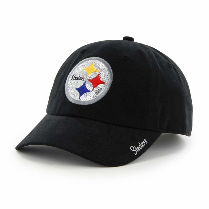 pittsburgh steelers women s 47 brand sparkle clean up Whitecaps Baseball Hat Whitecaps Baseball Hat