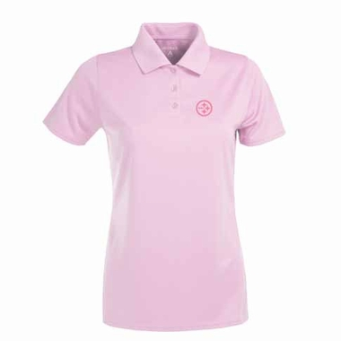 Pittsburgh Steelers Womens Exceed Polo (Color: Pink)