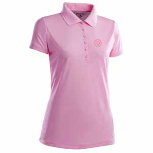 Pittsburgh Steelers Womens Pique Xtra Lite Polo Shirt (Color: Pink) - Medium