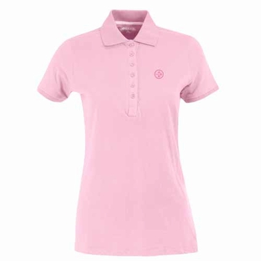 Pittsburgh Steelers Womens Spark Polo (Color: Pink)