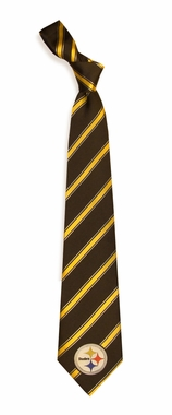 Pittsburgh Steelers Woven Poly 1 Necktie