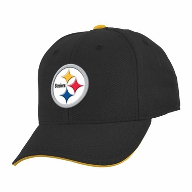 Pittsburgh Steelers Youth Adjustable Slouch Hat