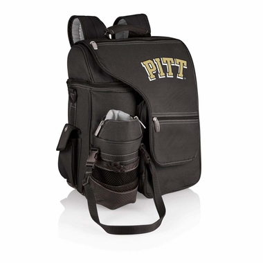 Pittsburgh Turismo Embroidered Backpack (Black)