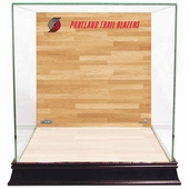 Portland Trailblazers Display Cases