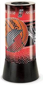 Portland Trailblazers Rotating Lamp