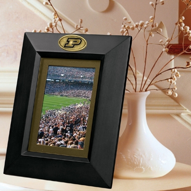 Purdue BLACK Portrait Picture Frame