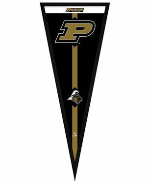 "Purdue Boilermakers Pennant Frame - 13"" x 33"" (No Glass)"