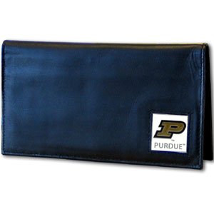 Purdue Leather Checkbook Cover (F)