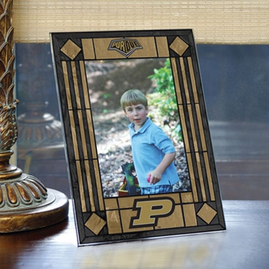 Purdue Portrait Art Glass Picture Frame