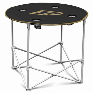 Purdue Round Tailgate Table