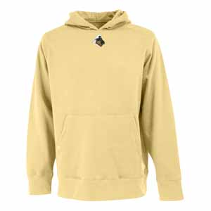 Purdue Mens Signature Hooded Sweatshirt (Color: Gold) - XX-Large