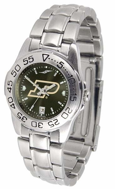 Purdue Sport Anonized Women's Steel Band Watch