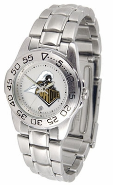 Purdue Sport Women's Steel Band Watch