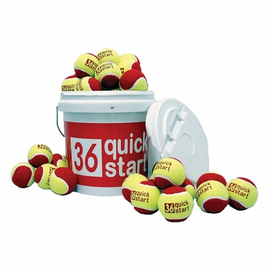 QuickStart 36' Court Balls (60 Ball Set)