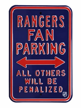 Rangers / Penalized Parking Sign