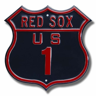Red Sox / 1 Route Sign