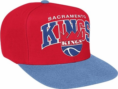 Sacramento Kings Throwback Tri-Pop Snap Back Hat