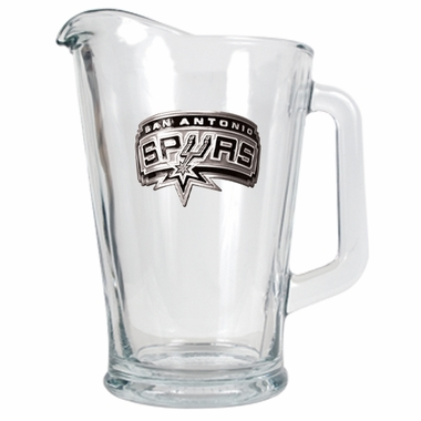 San Antonio Spurs 60 oz Glass Pitcher
