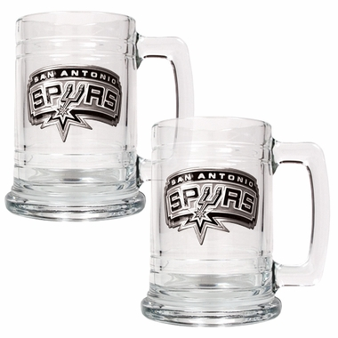San Antonio Spurs Set of 2 15 oz. Tankards