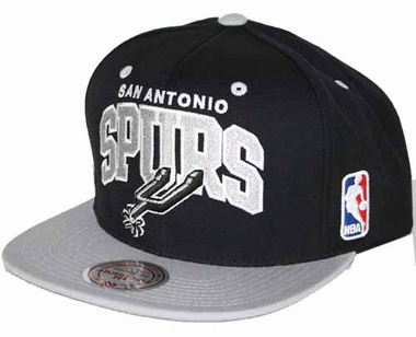 San Antonio Spurs Team Arch Snapback Hat