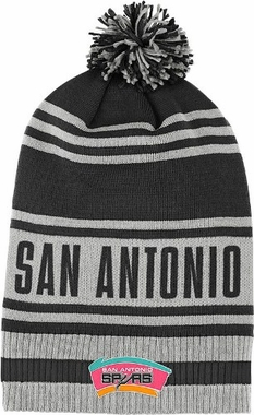 San Antonio Spurs Throwback Pom Hat