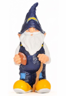 "San Diego Chargers Garden Gnome - 11"" Male"