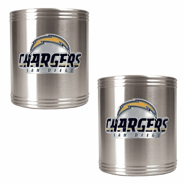 San Diego Chargers 2 Can Holder Set