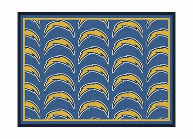 "San Diego Chargers 3'10"" x 5'4"" Premium Pattern Rug"