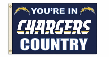 San Diego Chargers 3' x 5' Flag (Country) (F)