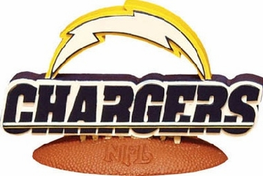 San Diego Chargers 3D Logo