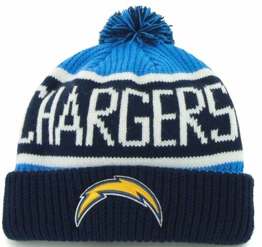 San Diego Chargers 47 Brand NFL Calgary Cuffed Knit Hat