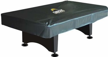 San Diego Chargers 8 Foot Pool Table Cover