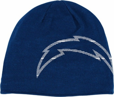 San Diego Chargers Big Logo Knit Hat