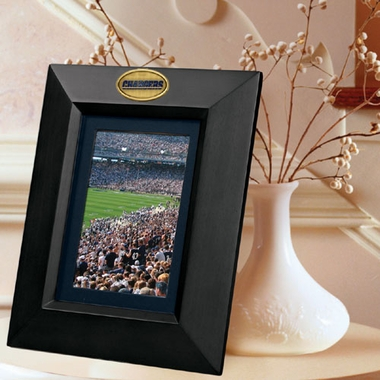 Los Angeles Chargers BLACK Portrait Picture Frame