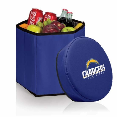 San Diego Chargers  Bongo Cooler / Seat (Navy)