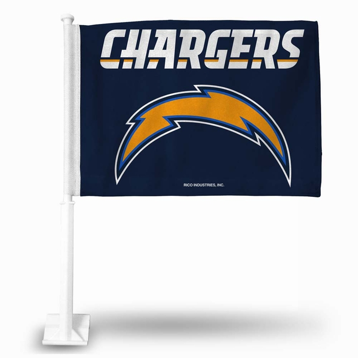 San Diego Chargers Canopy: San Diego Chargers Car Flag