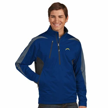 San Diego Chargers Mens Discover 1/4 Zip Pullover (Color: Navy)