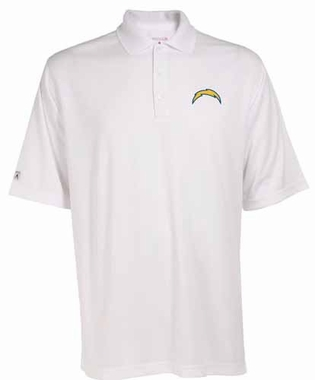 San Diego Chargers Mens Exceed Polo (Color: White)