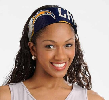 San Diego Chargers FanBand Hair Band
