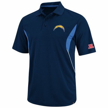San Diego Chargers Field Classic V Performance Polo Shirt