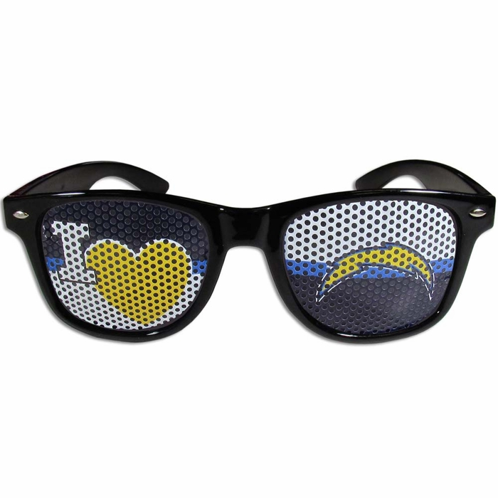 San Diego Chargers Canopy: San Diego Chargers I Heart Game Day Shades (F
