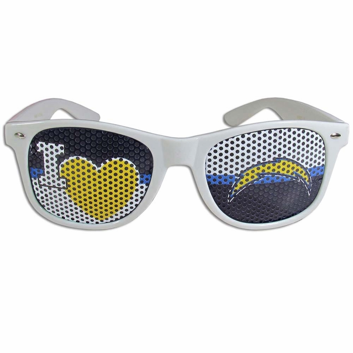 San Diego Chargers I Heart Game Day Shades F