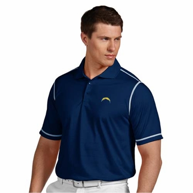 San Diego Chargers Mens Icon Polo (Color: Navy)