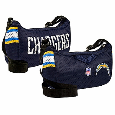 San Diego Chargers Jersey Material Purse
