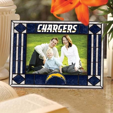 Los Angeles Chargers Landscape Art Glass Picture Frame