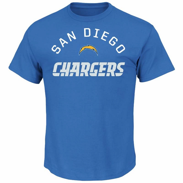 San diego chargers majestic for all time men 39 s short for Shirt printing san diego