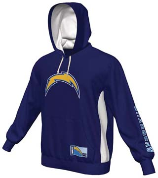 San Diego Chargers Majestic Passing Game Iv Pullover