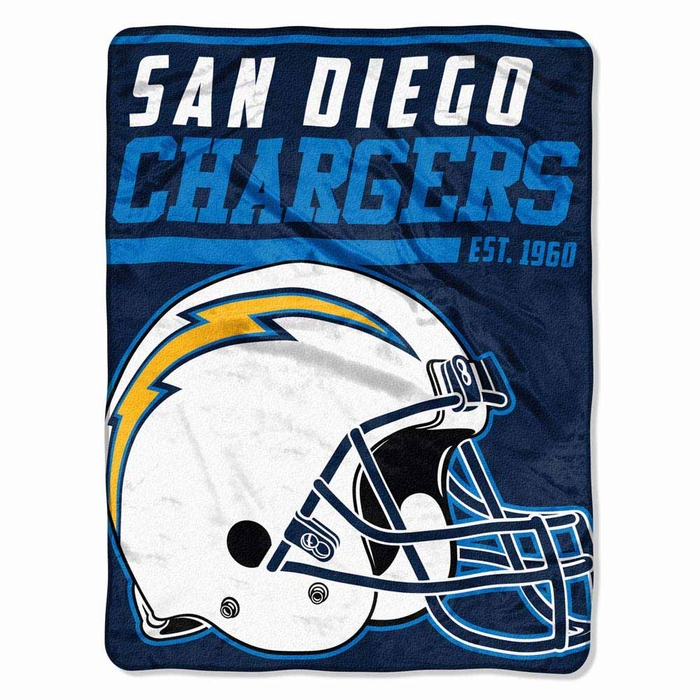 San Diego Chargers Blankets: San Diego Chargers Microfiber Throw