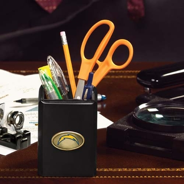 Los Angeles Chargers Pencil Holder (Black)
